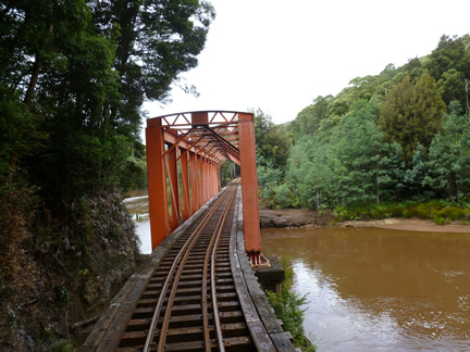 Abt Railway Iron Bridge