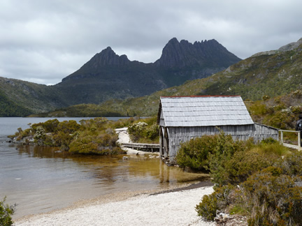 Dove lake Boat Shed Cradle Mountain