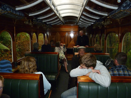 Premier Carriage on Abt Steam Train