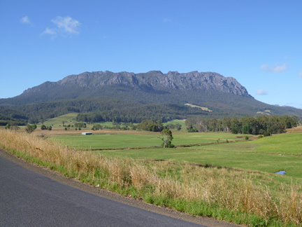 Paradise View Of Mount Roland