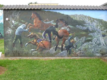 Spirited Horses Mural