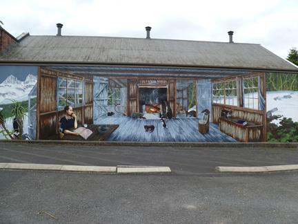 Stillness And Warmth Mural